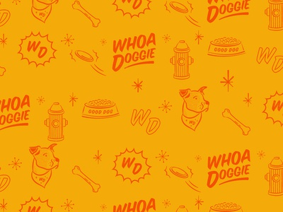 Whoa Doggie Pattern