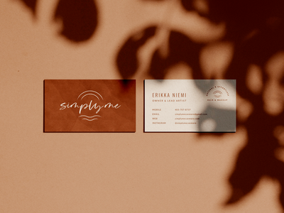 Business Cards for Simply Me