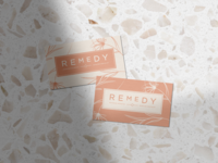 Remedy Business Cards