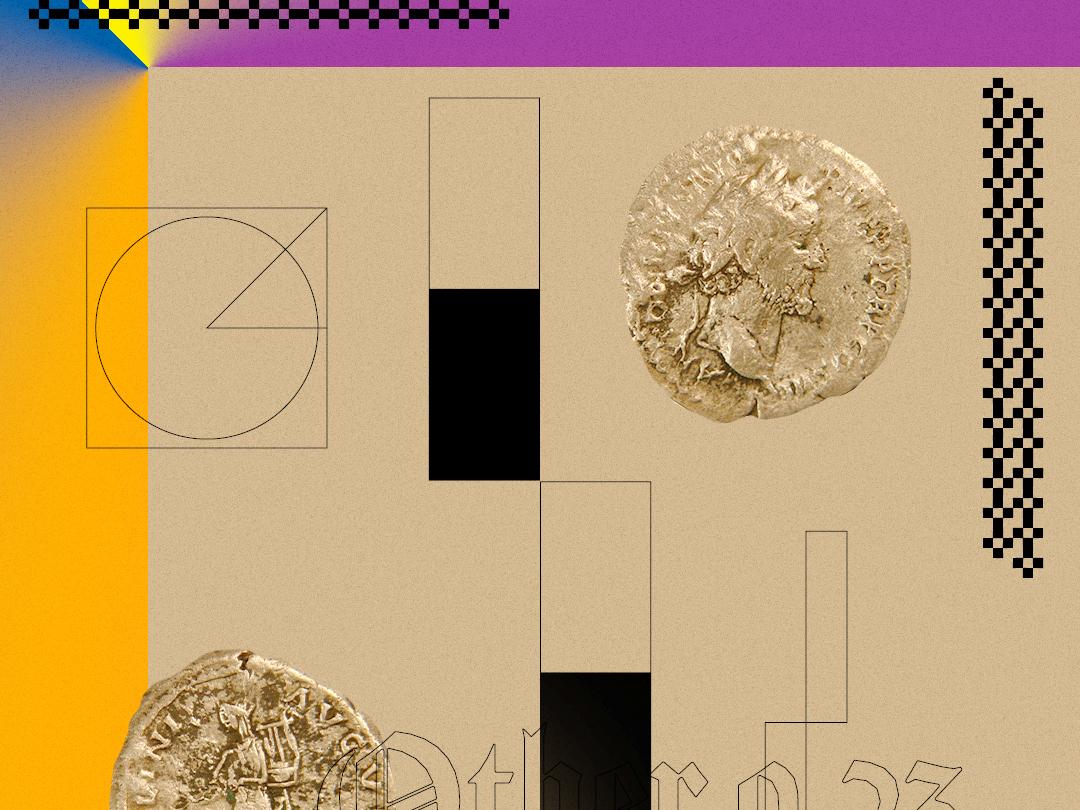 Other web illustration branding icon typography minimal illustrator graphic design art photoshop flat design coins