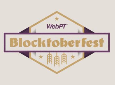 WebPT Blocktoberfest Idea