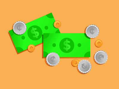 Times a Medicare Patient Can't Pay Cash branding minimal illustrator graphic design vector illustration flat web design