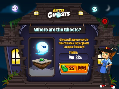 Dinerdash Gtg2 Small diner dash game mobile game game ui halloween ghost game event