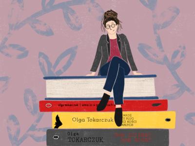Olga Tokarczuk procreate