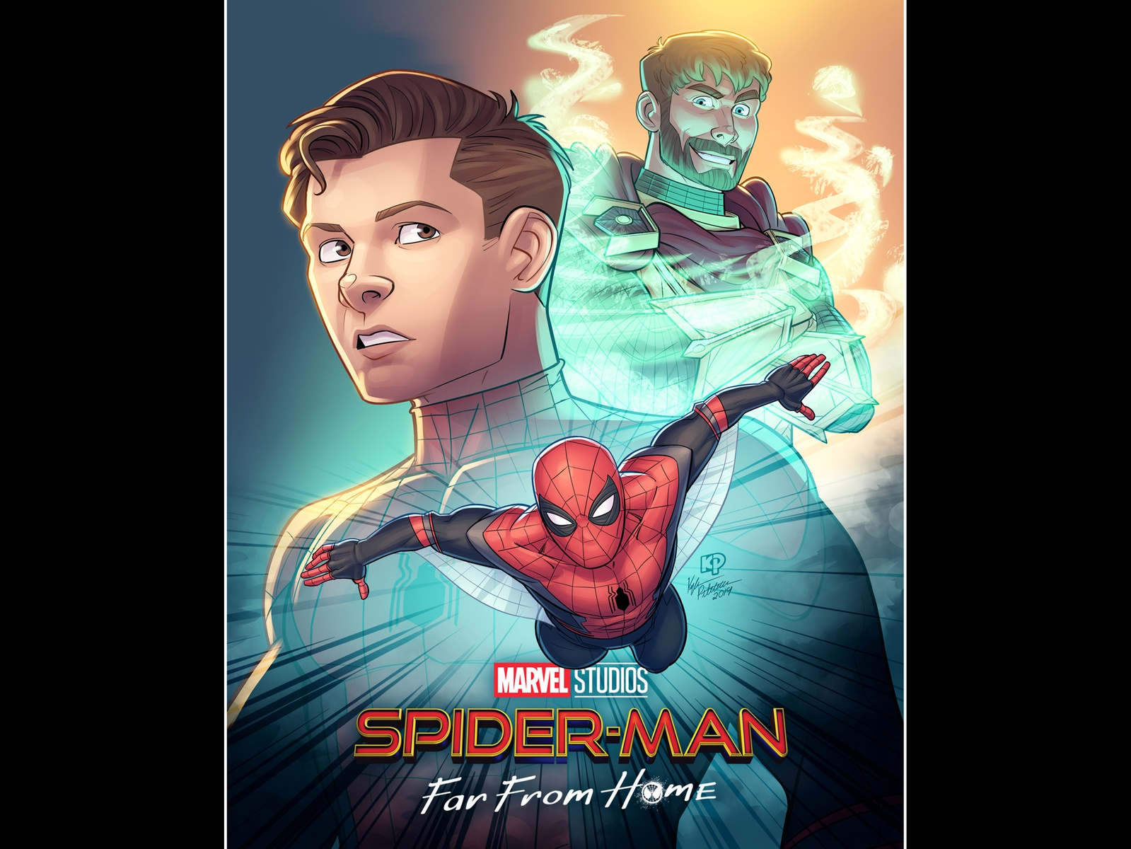 Spider-Man: Far From Home Fan Art Roundup