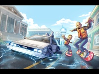Back to the Future-Themed Personalized Commission