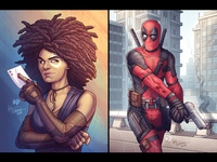 Deadpool 2 Fan Art