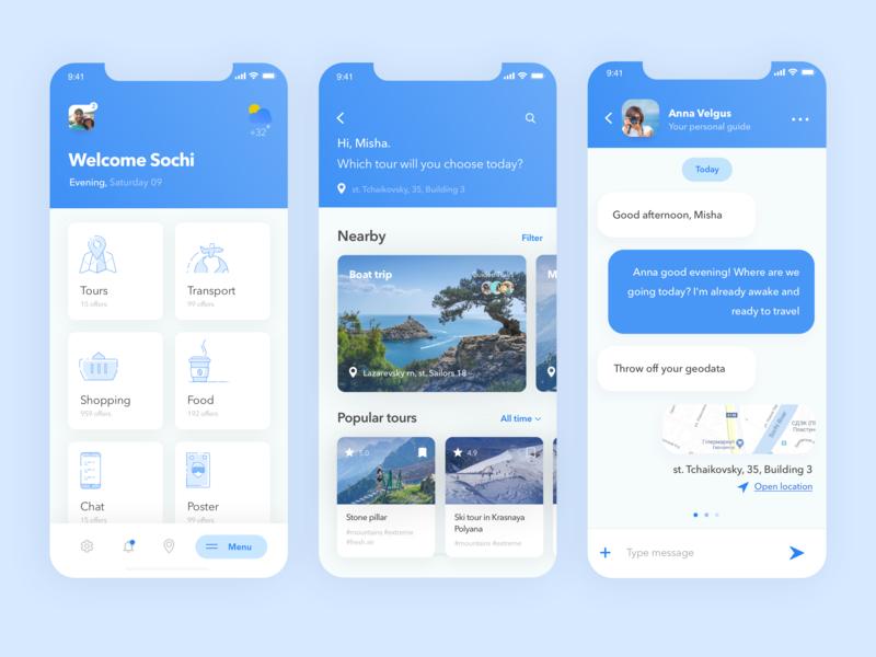Sochi travel vector sochi moscow minimalist graphics graphic illustration icon list flat app web ux ui search minimal design