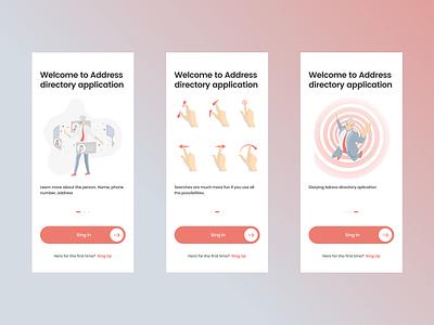 Address application graphic illustration icon flat app ui ux search minimal design
