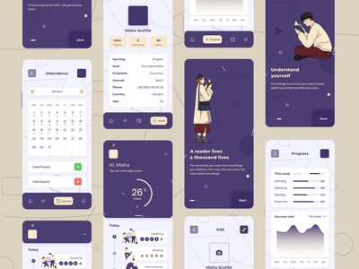 Educations graphic list illustration icon app search minimal design ux ui
