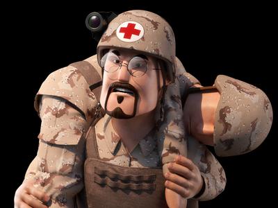 Medic 3d Character