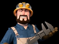 Engineer 3d Character