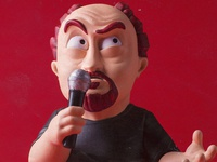 Collectible figure Louie CK