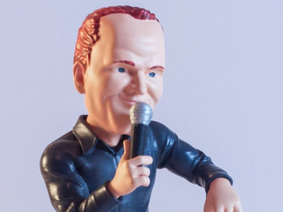 Collectible figure - Bill Burr 3d printing digital sculpt 3d print product design freelance toy designer toy maker toy designer karmieh bill burr art toy