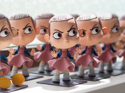 Eleven Stranger Things Toy