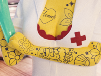 Marge Nurse Toy Design