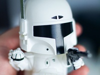 Boba Fett White Edition
