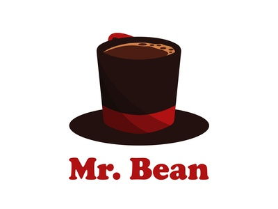 """Mr. Bean""-logo and name design (full branding)"