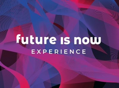 FUTURE IS NOW conference - branding
