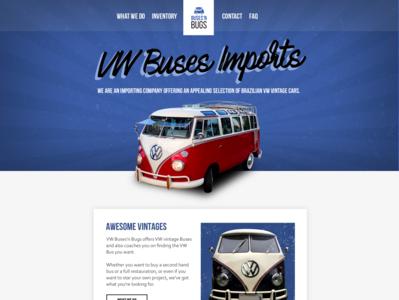 Vintage Cars - Website