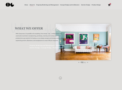Artisan Design - Website