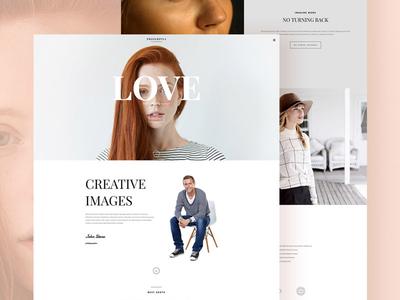 Proserpina webdesign layout website wordpress branding