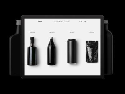 Semele shop packaging package design package online shop container boxing