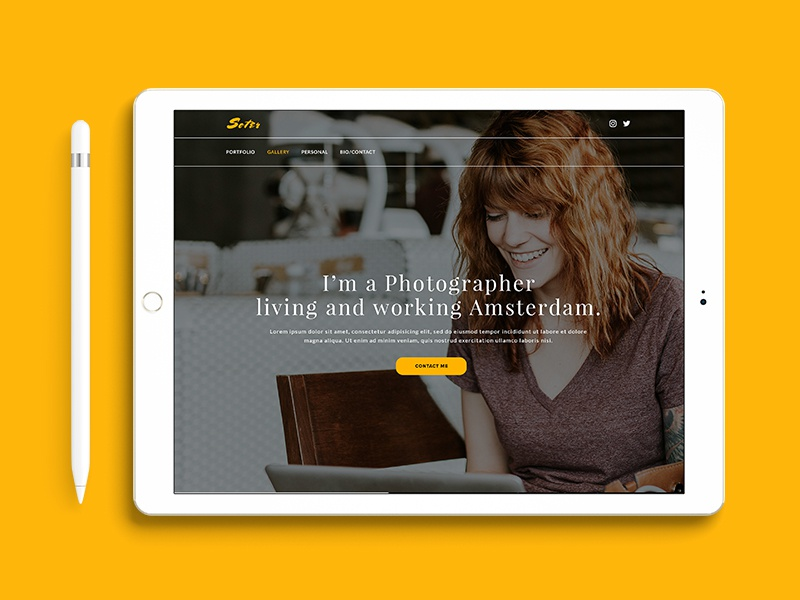 Soter portfolio photography photographer personal portfolio creative