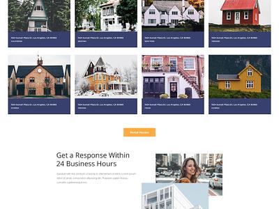 Free Real Estate PSD Template Giveaway free template giveaway real estate webdesign website template wordpress
