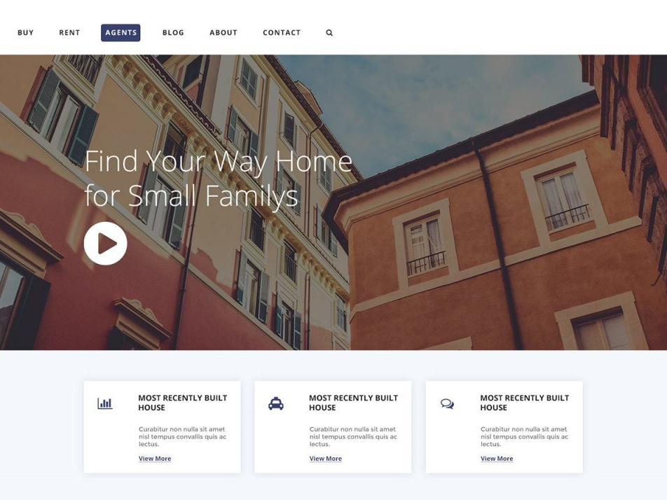Free Real Estate PSD Template Giveaway free template giveaway real estate webdesign website template wordpress