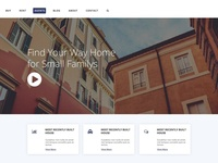 Free Real Estate PSD Template Giveaway