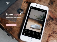 Free App Webpage PSD Template Giveaway