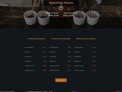Free Coffee Webpage PSD Template Giveaway giveaway coffee jupiterwptheme branding wordpress template webdesign website template wordpress