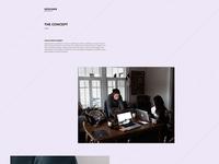 Free Designer Website PSD Template Giveaway