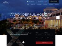 Luxury hotel website template ui wordpress template hotel booking business sleek luxury hotel webdesign template website wordpress