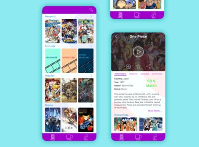 App for anime/manga