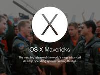 "OS X ""Mavericks"""