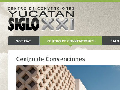 Siglo XXI website ui menu web logo header g3