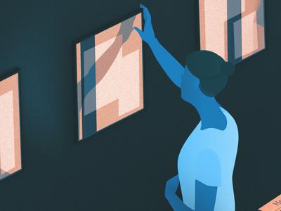 Detail of illustration for Journa - Work in Progress