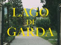 Lago di Garda - Yellow title