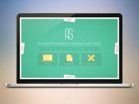 Personal site design concept