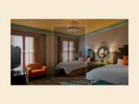 Hotel Icon Hover Effects
