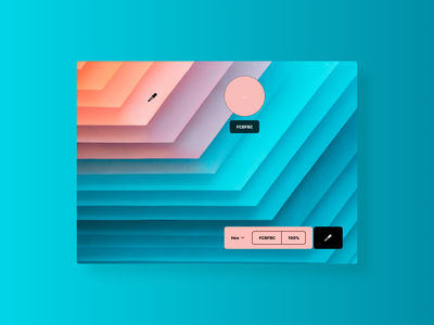 Color Picker 060 web color picker design concept dailyui ui