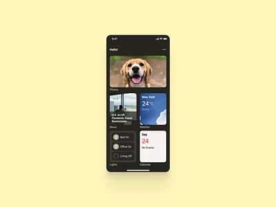 Notes Widget 065 notes widget mobile concept design app dailyui ui