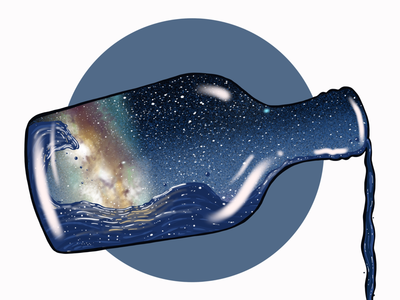 Milky Way in a Bottle