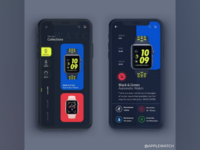 A Redesign for a WristWatch App.