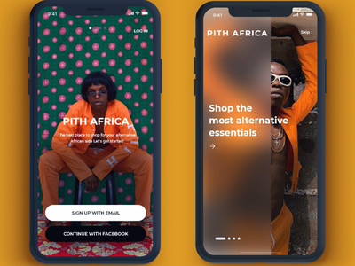 Pith Africa Ui Design ui ux fashion