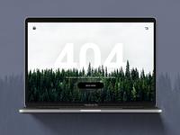 404 page - DailyUI Challenge