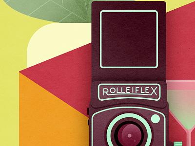 Rolleiflex illustration rolleiflex camera