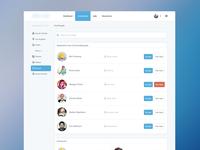 Search & Invite Page